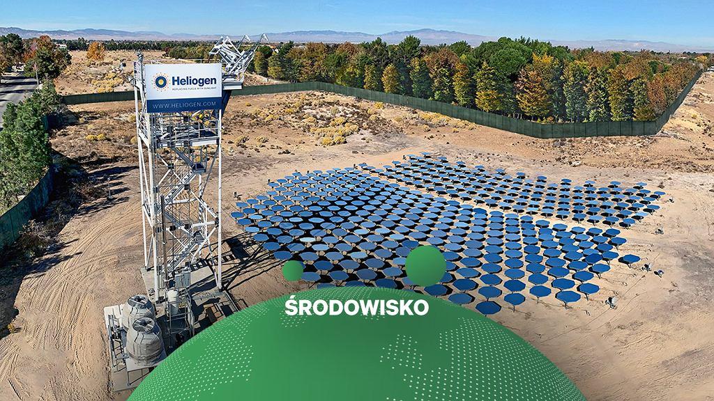 Przełom w energii słonecznej? Nowy pomysł Heliogen, startupu wspieranego przez Billa Gatesa.