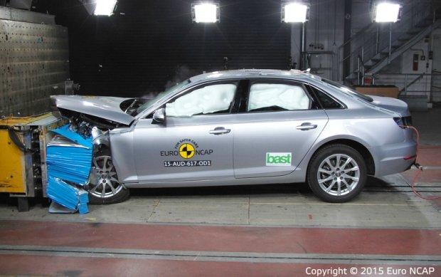 Testy Euro NCAP - Audi A4