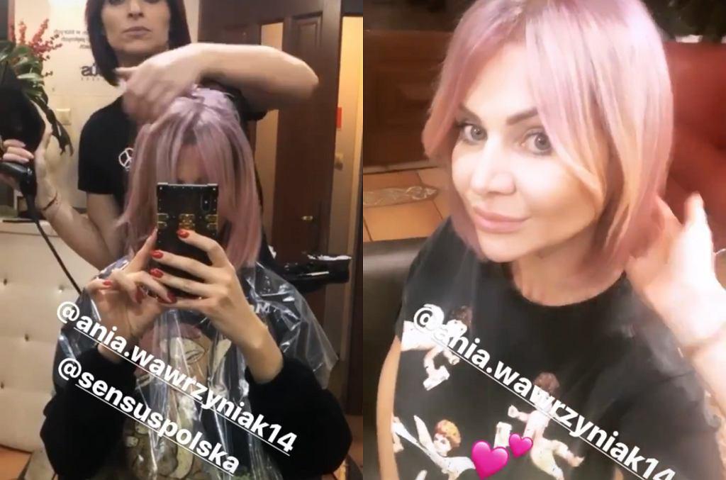Maja Plich ma różowe włosy