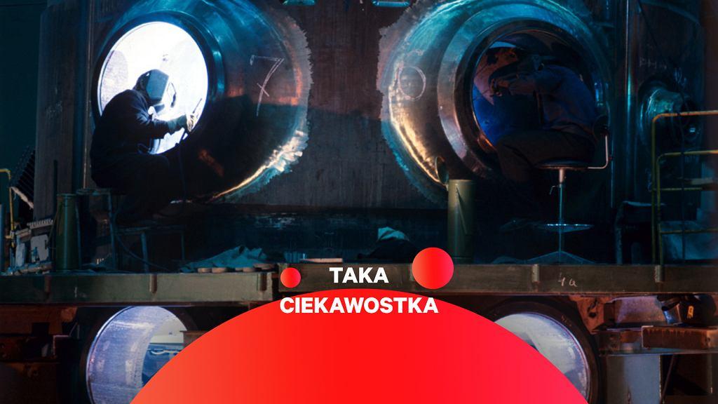 Produkcja reaktora VVER-1000, starszej wersji takich, które zostały zainstalowane w białoruskiej elektrowni jądrowej