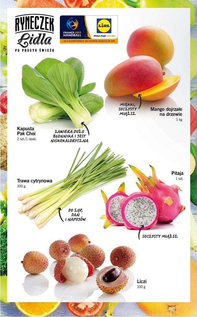 Wachlarz smaków i kolorów - tydzień kuchni azjatyckiej w Lidlu