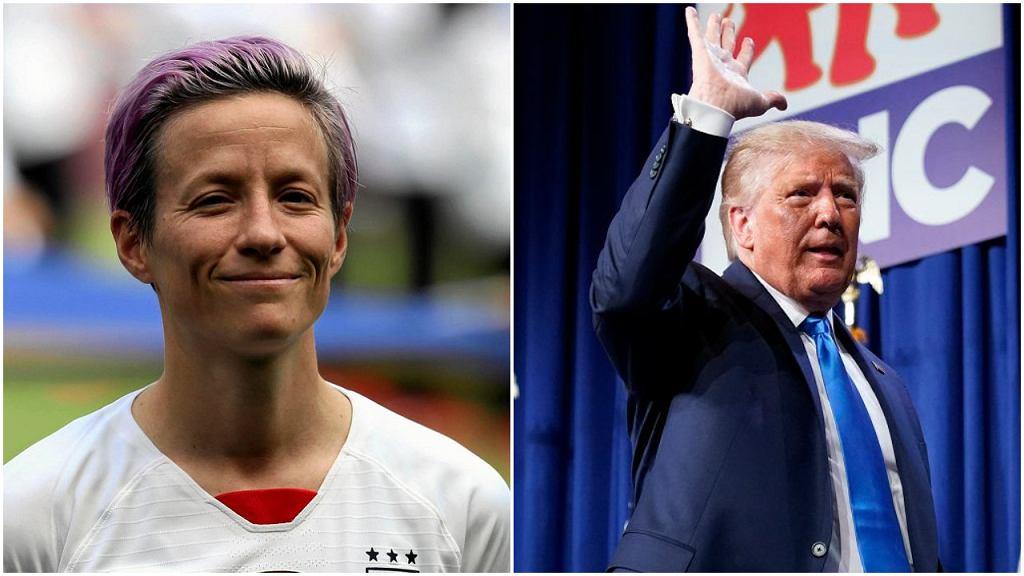 Megan Rapinoe i Donald Trump