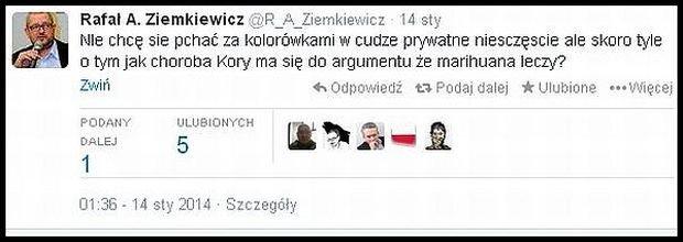 Ziemkiewicz znów