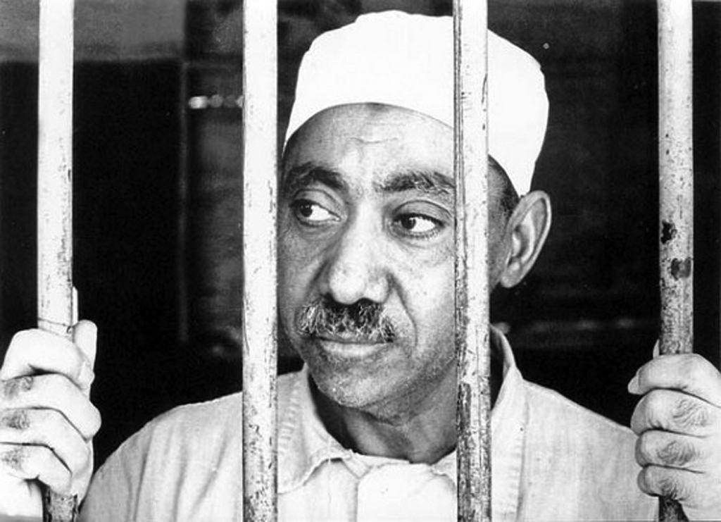 Egipcjanin Sajjid Kutb, filozof, poeta, dziennikarz, przywódca Bractwa Muzułmańskiego. Stał się ojcem duchowym dla przywódców Al-Kaidy