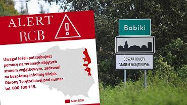 Stan wyjątkowy przy granicy z Białorusią