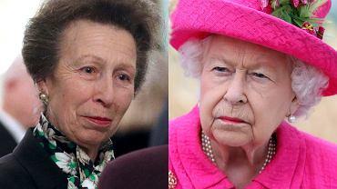 Królowa Elżbieta II ponagla córkę księżną Annę w czasie rozmowy z Donaldem Trumpem. Zrobiło się niezręcznie