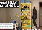 Regał Billy ma już 40 lat i jest nieustannie w doskonałej formie! IKEA zdradza sekret na długowieczność