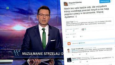 'Więcej dystansu :-)' - polecił Krzysztof Ziemiec