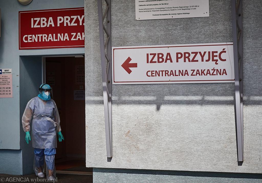 Interwencja policjantów w szpitalu w Katowicach