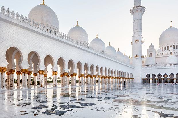 Abu Dhabi -  Wielki Meczet Sheikha Zayeda