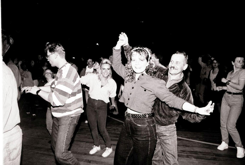 1997 Poznan . Arena , Koncert disco polo w poznanskiej Arenie , k-96 .  Fot . Przemyslaw Graf / Agencja Gazeta