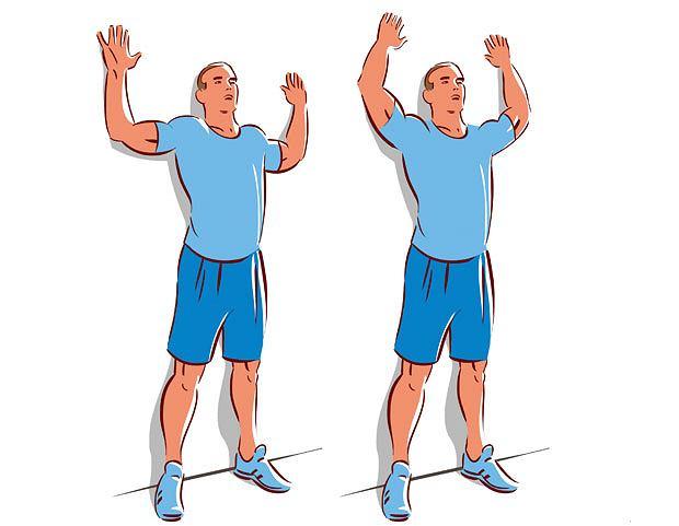 ćwiczenia, Ćwiczenia: ja dobrze pływać kraulem, Przysiad sztangisty