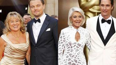 "Leonardo DiCaprio, Irmelin DiCaprio, Mary Kathleen ""Kay"" McCabe, Matthew McConaughey"