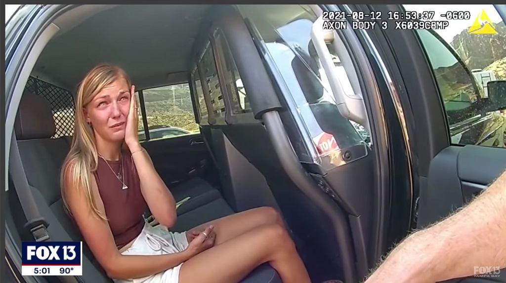Nowe nagranie policji ws. Gabby Petito