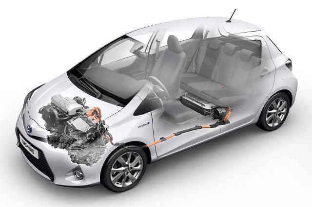 Toyota Yaris HSD - układ hybrydowy