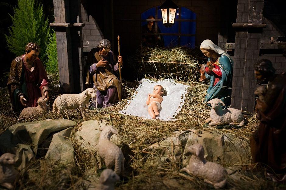 Szopka bożonarodzeniowa - zdjęcie ilustracyjne