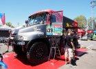 Rajd Dakar. Polska ciężarówka coraz wyżej