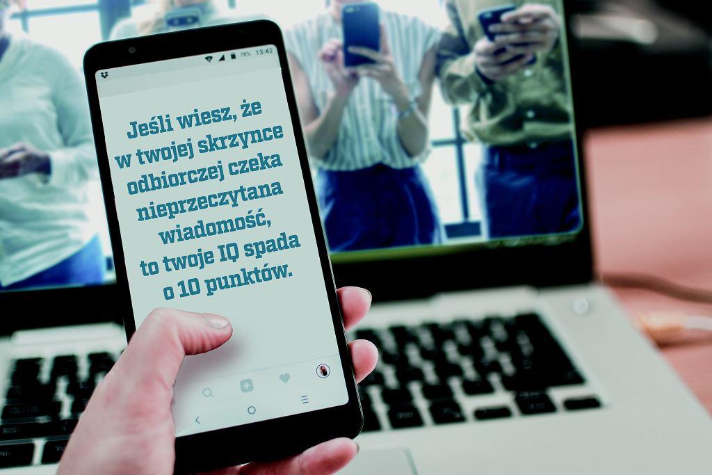 Telefon, twój wróg - czym grozi nadużywanie smartfona?