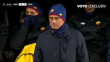 Jose Mourinho w meczu z Bodo Glimt