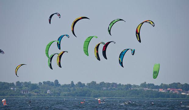 Półmetek zawodów o Puchar Polski w kitesurfingu, Ford Kite Cup 2013, sport
