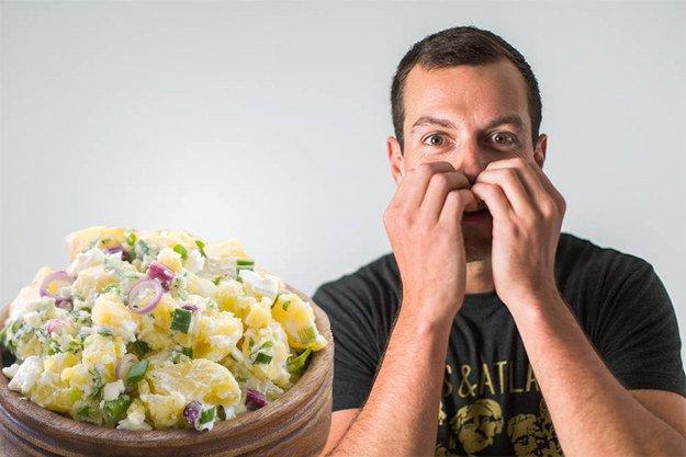 Sałatka ziemniaczana okazała się wielkim sukcesem Kickstartera