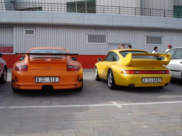 Porsche GT3 RS i Carrera RS