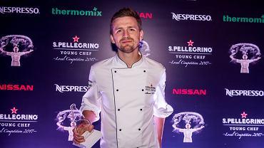 Marcin Popielarz - zwycięzca międzynarodowego półfinału konkursu S.Pellegrino Young Chef 2017