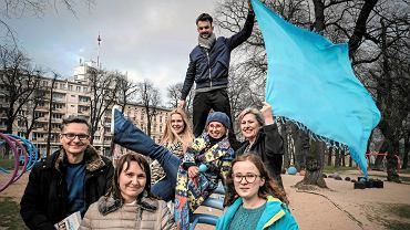 Członkowie stowarzyszenia Turkusowy Poznań