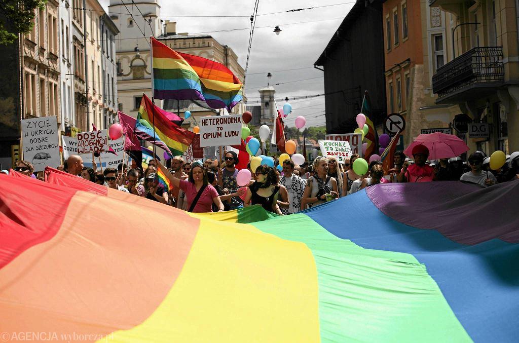Marsz Równości w Krakowie, 18 maja 2013 r.