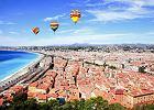 Francja miasta - Nicea: zabytki Starego Miasta i Wzgórze Zamkowe