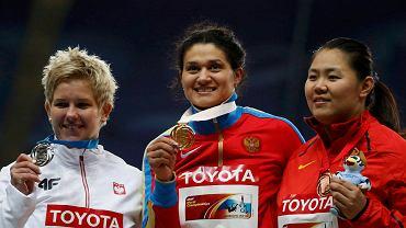 Anita Włodarczyk, Tatiana Łysenko i Zhang Wenxiu