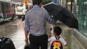 Umbrella Dad