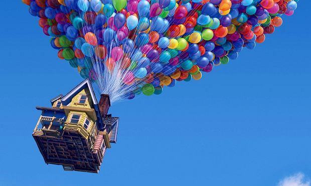 Odlot kadr z filmu balony tydzień zrównoważonego transportu