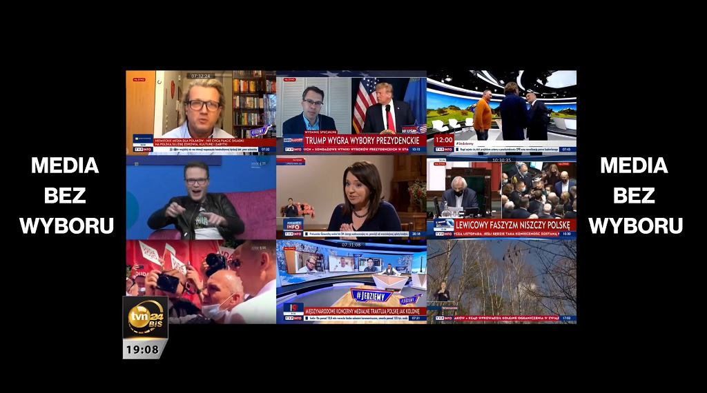 Materiał 'Faktów' TVN