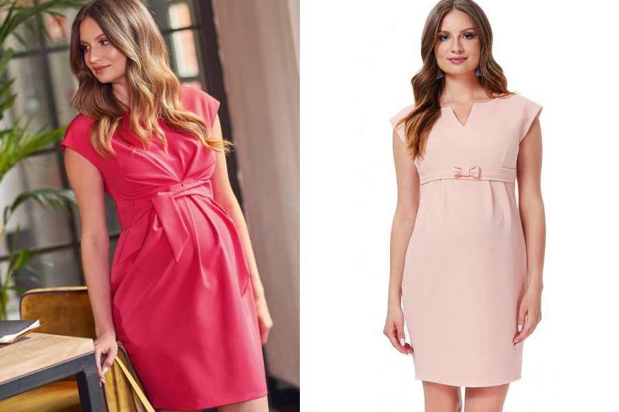 sukienki na komunię dla mamy w ciąży