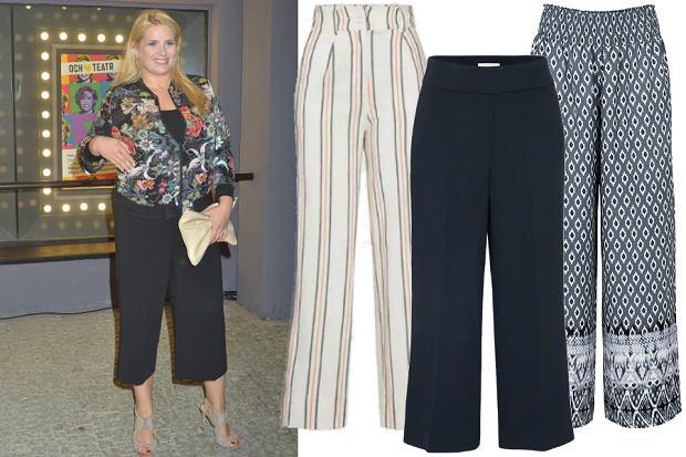 spodnie na lato plus size