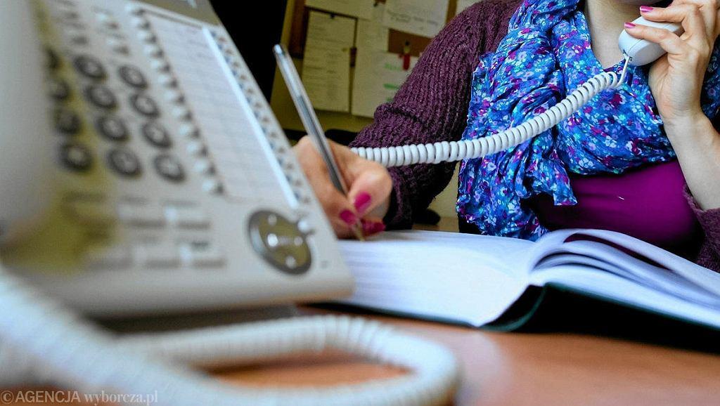 telefon zaufania (zdjęcie ilustracyjne)