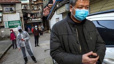 Koronawirus w Chinach (zdjęcie ilustracyjne)