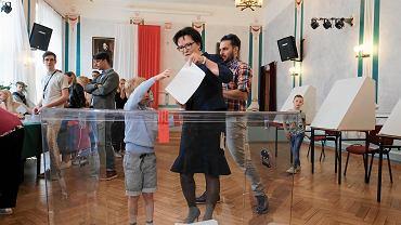 Eurowybory 2019. Głosuje w Poznaniu była premier Ewa Kopacz