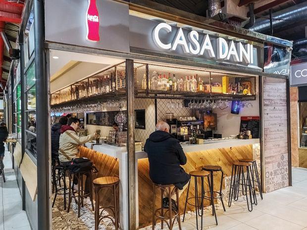 Madryt, restauracja Casa Dani znajduje się wMercado de la Paz