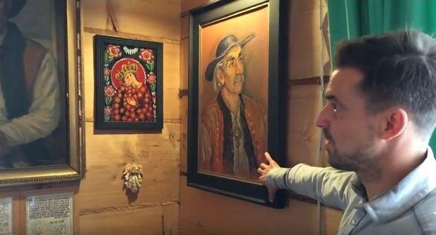 Zdjęcie numer 12 w galerii - Stanisław Karpiel-Bułecka pokazał, jak mieszka. Piękna góralska chata! A jej wnętrze? Istna perełka