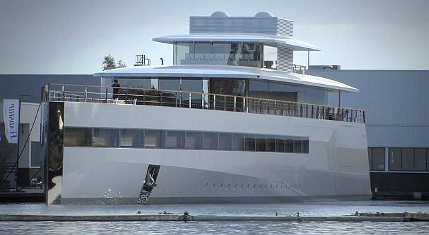 Jacht Wenus projektu Steve'a Jobsa