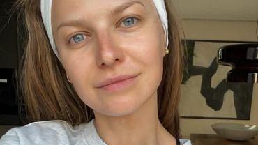 Anna Lewandowska bez makijażu