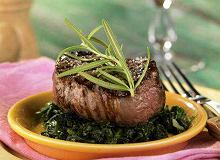 Stek z polędwicy wołowej - ugotuj