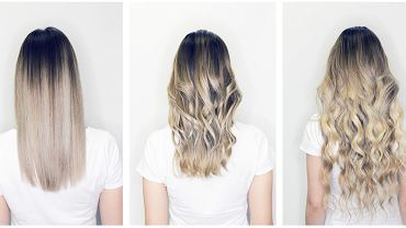 Kokosowe włosy, czyli, gdy 'odrost' jest bardzo widoczny