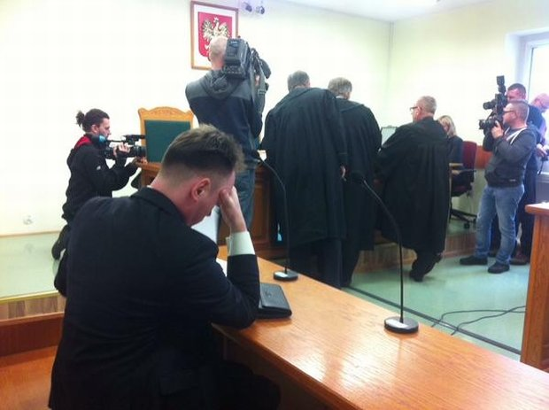 Sala rozpraw w koszalińskim sądzie
