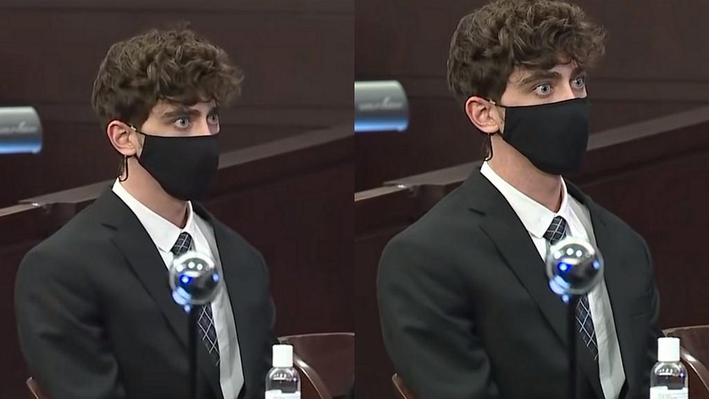 Reakcja 21-latka na wyrok sądu