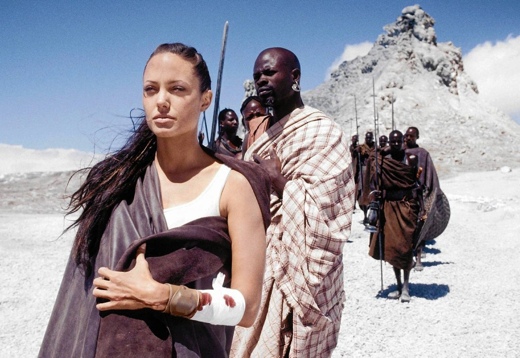 Angelina Jolie - 'Tomb Raider, Kolebka życia'