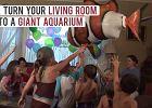 Twój salon akwarium dla rekina? Z tym niesamowitym balonem to możliwe [WIDEO]