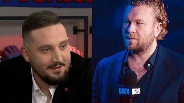 Michał 'Boxdel' Baron i Maciej Kawulski